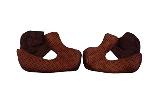 Bell Bullitt Cheek Pad Set (Brown, 35mm) - MyBikeCo