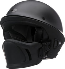 Load image into Gallery viewer, Bell Rogue Half-Size Motorcycle Helmet (Solid Matte Black, Large) - MyBikeCo