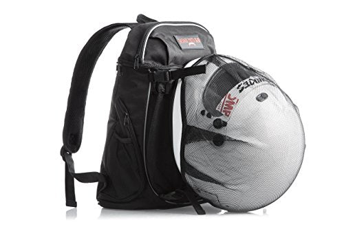 Badass Moto Cool Motorcycle Helmet Laptop Backpack for Men & Women. Perfect Carry on Travel Backpack. Airline Approved Personal Item. Gym, College & School Backpack. Removable Full Face Helme
