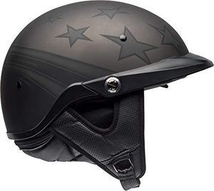 Bell Pit Boss Open-Face Motorcycle Helmet (Honor Matte Titanium/Black, Medium) - MyBikeCo