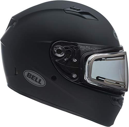 Bell Qualifier Electric Shield Snow Helmet (Matte Black, Large) - MyBikeCo