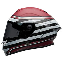 Load image into Gallery viewer, Bell Race Star DLX Full-Face Motorcycle Helmet (RSD The Zone Matte/Gloss White Candy Red, Medium) - MyBikeCo
