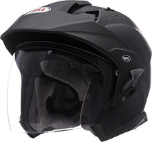Load image into Gallery viewer, Bell Mag-9 Open Face Motorcycle Helmet (Solid Matte Black, X-Large) - MyBikeCo