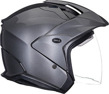Load image into Gallery viewer, Bell Mag-9 Open Face Motorcycle Helmet (Solid Gloss Titanium, XX-Large) - MyBikeCo