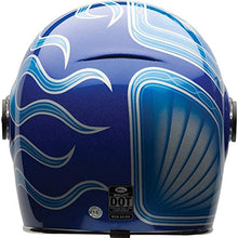 Load image into Gallery viewer, Bell Chemical Candy Adult Bullitt Chemical Street Motorcycle Helmet - Blue/X-Large - MyBikeCo
