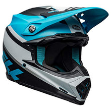 Load image into Gallery viewer, Bell Moto-9 MIPS Off-Road Motorcycle Helmet (Prophecy White/Black/Blue, Large) - MyBikeCo