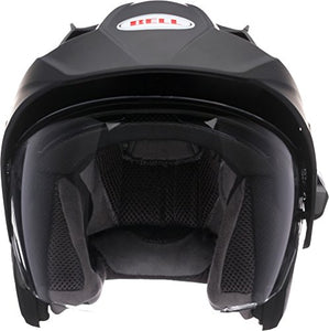 Bell Mag-9 Open Face Motorcycle Helmet (Solid Matte Black, XX-Large) - MyBikeCo
