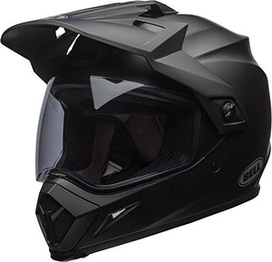 Bell MX-9 Adventure MIPS Full-Face Motorcycle Helmet (Solid Matte Black, Small) - MyBikeCo