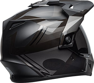 Bell MX-9 Adventure MIPS Full-Face Motorcycle Helmet (Matte/Gloss Blackout, Medium) - MyBikeCo