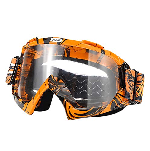 ATV Motorcross Motorcycle Safety Glasses for Women Men Youth - MyBikeCo