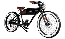 "Load image into Gallery viewer, Greaser Retro Style Electric Bike - 26"" Wheels, 500W Brushless Electric Motor - MyBikeCo"