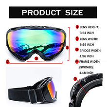 Load image into Gallery viewer, Cynemo Motorcycle Goggles, Ski Snowboard Goggles Anti Fog Wind - MyBikeCo