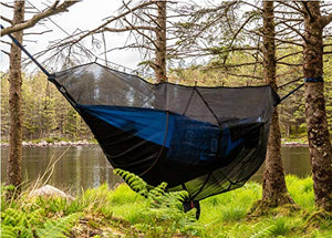 Crua Koala 1 Person Hammock -Comfort- Guaranteed - USA Based Hammocks Brand Gear, Indoor Outdoor Backpacking Survival & Travel, Portable, Motorcycle, Hiking - MyBikeCo