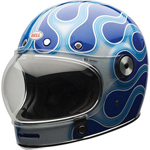 Bell Chemical Candy Adult Bullitt Chemical Street Motorcycle Helmet - Blue/X-Large - MyBikeCo