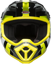 Load image into Gallery viewer, Bell MX-9 MIPS Off-Road Motorcycle Helmet (Gloss Hi-Viz Yellow/Black Marauder, X-Large) - MyBikeCo