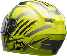 Load image into Gallery viewer, Bell Qualifier Dual Shield Snow Helmet (Blaze Yellow/Titanium, Large) - MyBikeCo