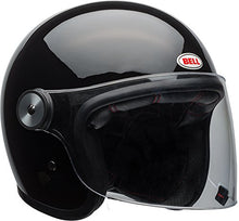 Load image into Gallery viewer, Bell Riot Flip-Up Motorcycle Helmet (Solid Gloss Black, Medium) - MyBikeCo