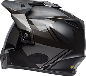 Bell MX-9 Adventure MIPS Full-Face Motorcycle Helmet (Matte/Gloss Blackout, Large) - MyBikeCo
