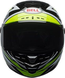 Bell Star MIPS Equipped Street Motorcycle Helmet (Gloss Hi-Viz Green/Black Torsion, XX-Large) - MyBikeCo