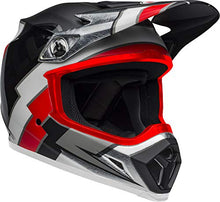 Load image into Gallery viewer, Bell MX-9 MIPS Off-Road Motorcycle Helmet (Twitch Replica Matte Gloss Black/Red/White, Medium) - MyBikeCo
