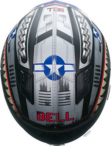 Bell Qualifier DLX Full-Face Motorcycle Helmet (Devil May Care Matte, Medium) - MyBikeCo