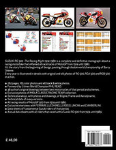 Load image into Gallery viewer, Suzuki RG 500-The Racing Myth 1974-1980 - MyBikeCo