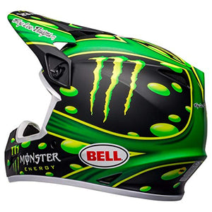 Bell MX-9 MIPS Off-Road Motorcycle Helmet (Showtime Replica Matte Black/Green, Large) - MyBikeCo