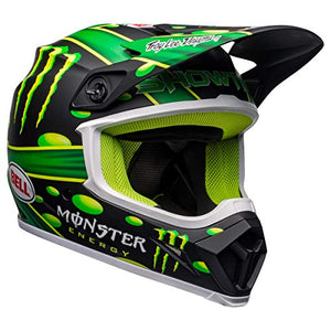 Bell MX-9 MIPS Off-Road Motorcycle Helmet (Showtime Replica Matte Black/Green, Medium) - MyBikeCo