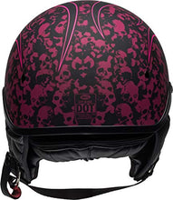 Load image into Gallery viewer, Bell Pit Boss Open-Face Motorcycle Helmet (Catacomb Pinstripe Pink, X-Small/Small) - MyBikeCo