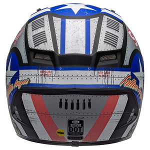 Bell Qualifier DLX MIPS Full-Face Motorcycle Helmet (Devil May Care 2020 Matte Gray, Large) - MyBikeCo