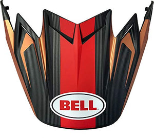 Bell Moto-9 Flex Visor, Vice Black/Copper - MyBikeCo