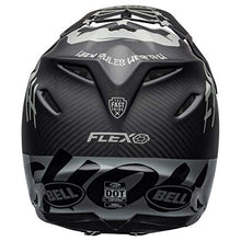 Load image into Gallery viewer, Bell Moto-9 Flex Off-Road Motorcycle Helmet (Fasthouse WRWF Matte/Gloss Black/White/Gray, X-Large) - MyBikeCo