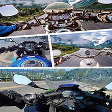 Load image into Gallery viewer, Motorcycle Helmet Chin Strap Mount for GoPro Hero 9, 8, 7, (2018), 6 5 4 3, Hero Black, Session, Xiaomi Yi, SJCAM (Blue) - MyBikeCo