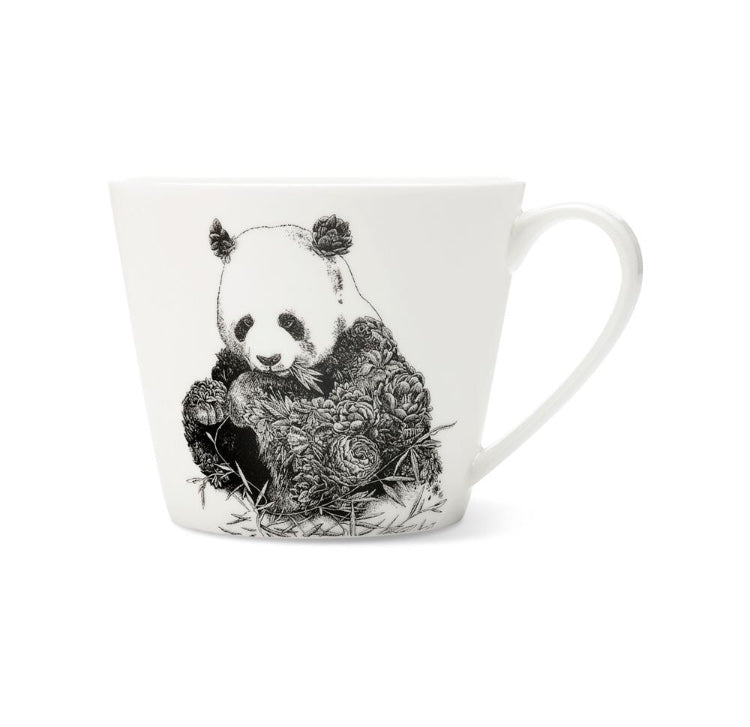 China Animal Illustration Mugs Turtle / Panda / Giraffe