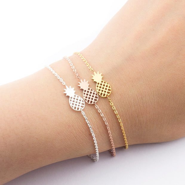 Summer Fruit Pineapple Friends Bracelet