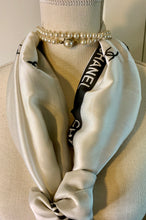 Load image into Gallery viewer, Silken C Logo Letter Scarf