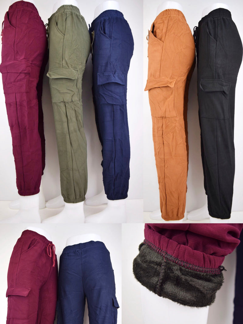 Pantalon jogging polaire (x12)