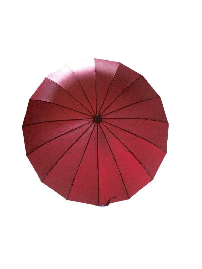 LOT DE 12 - Parapluie long ultra-résistant 5,00€/unité | Grossiste-pro