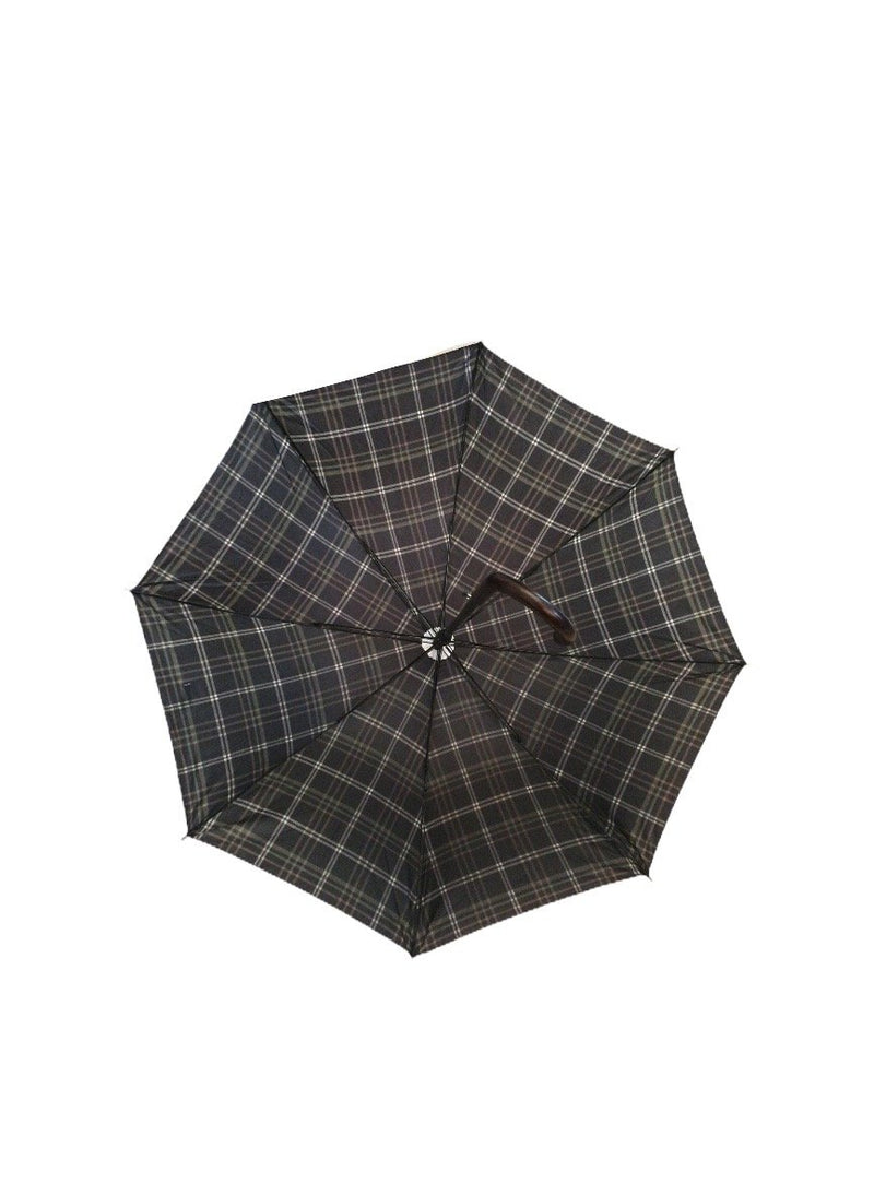 LOT DE 12 - Parapluie long motif carreaux tartan 2,50€/unité | Grossiste-pro