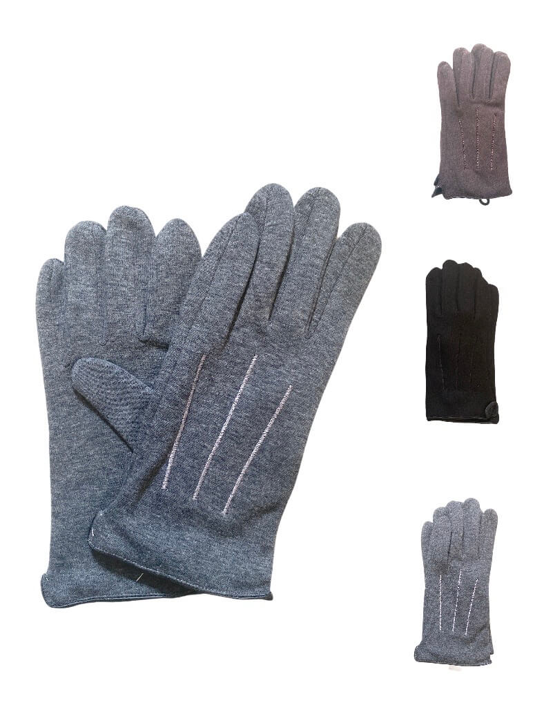 Gants simples traits (x12) 2,30€/paire | Grossiste-pro