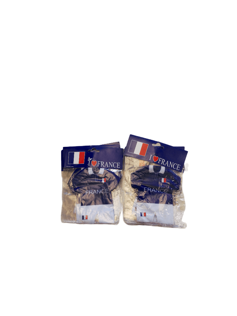 LOT DE 12 - mini maillot France ventouse       1,00€/unité | Grossiste-pro