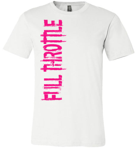 Full Throttle Tee Pink