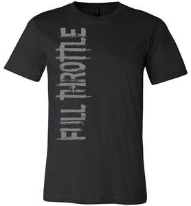 Full Throttle Tee Black