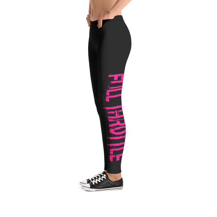 Full Throttle Leggings in Black