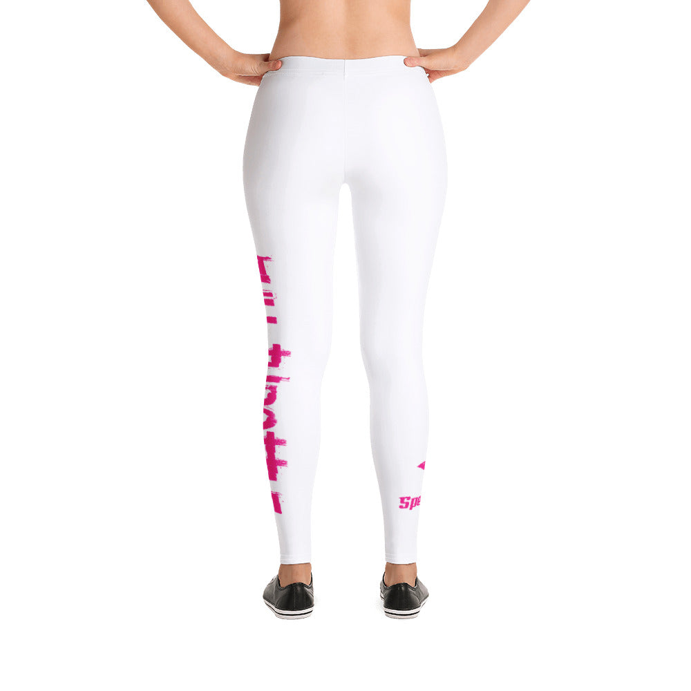 Full Throttle Leggings in White