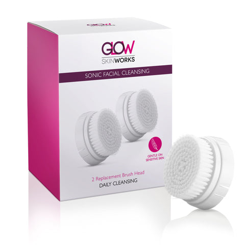 Glow SkinWorks Replacement Brush Head (2 pack)