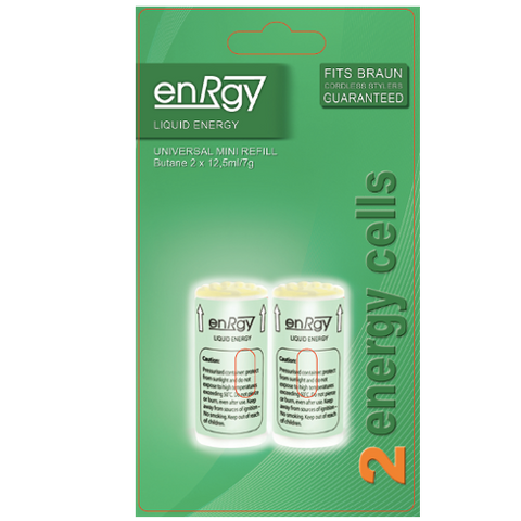 LECs2 enRgy Gas Cell - replacement Braun Gas Cell 2 x 12.5ml