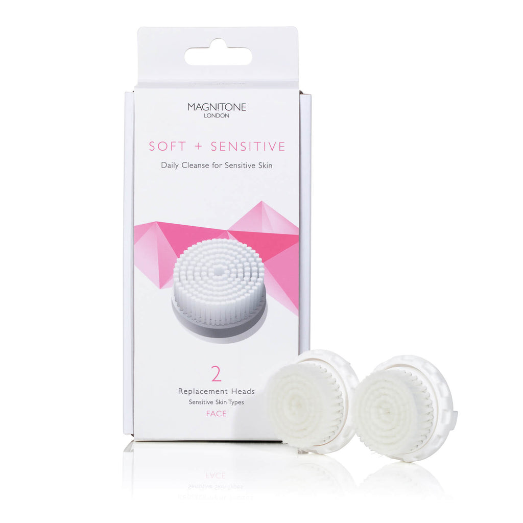 Magnitone Soft and Sensitive replacement brush heads