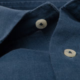 Camisa Lino Monaco V.3 Moonlight Blue