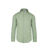 Camisa Lino Monaco V.8 Watercress